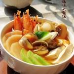 韩式海味大酱汤