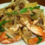 姜葱可乐螃蟹