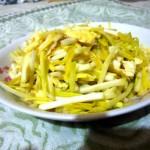 蒜黄炒鸡蛋