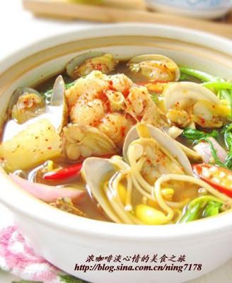 韩国辣鱼汤
