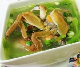 螃蟹莴苣汤