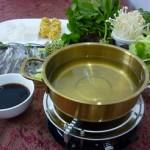 鸡汤鳜鱼小火锅