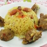 新疆羊肉手抓飯