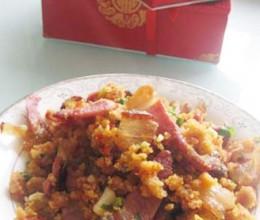 酢广椒炒腊肉