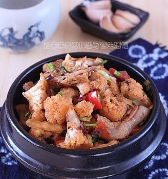 香辣干锅菜花