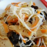 凉拌豆芽菜
