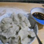 鲜肉蘑菇水饺