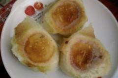 猪肉韭菜水煎包