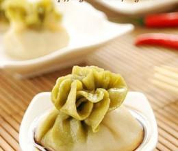 烫面白菜蒸饺