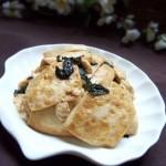 紫苏煎豆腐
