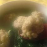 菠菜魚丸湯