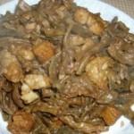 干豆角燜五花肉