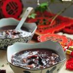 黑糯米红枣芸豆粥