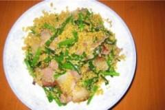 小米炒腊肉