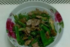 青辣椒炒肉