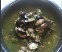 海鲜香菇汤
