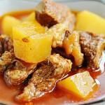 西红柿土豆炖牛肉