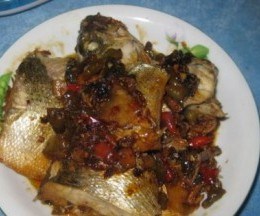 红烧海鲈鱼