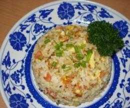咖喱火腿肠炒饭