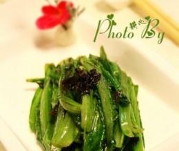 潮式炒油麦菜