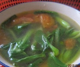 西红柿青菜汤