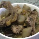 牛蒡鸽子汤