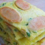 鸡蛋香肠饼
