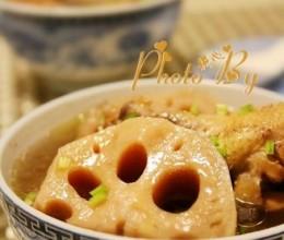 莲藕炖鸡汤
