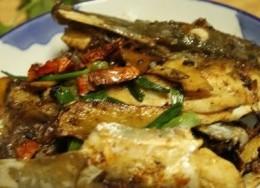 姜葱煎焗大鱼头
