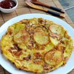 西班牙土豆煎蛋饼