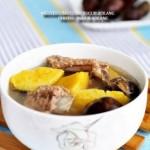 红薯栗子排骨汤