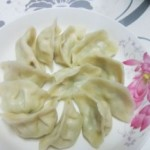 青柿子鸡蛋水饺