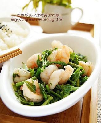 香椿炒虾仁