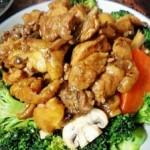 西兰花炒鸡