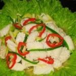 韭黄鱿鱼卷