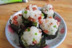 海苔小饭团