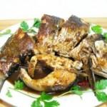 紅燒草魚段