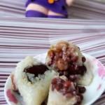 红枣红豆花生粽
