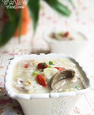 燕麦猪肝粥