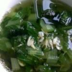 海藻虾皮青菜汤