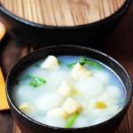 鲜贝冬瓜汤