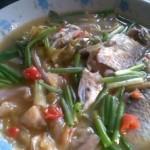 泡菜煮鲫鱼