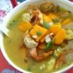 南瓜焗螃蟹