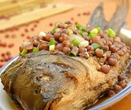 红小豆焖鲤鱼