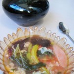 杂蔬木耳鸡蛋汤