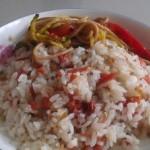 榨菜火腿肠炒饭