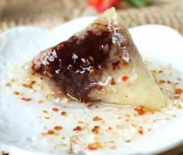 软糯豆沙粽子