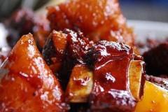 排骨烧粽子