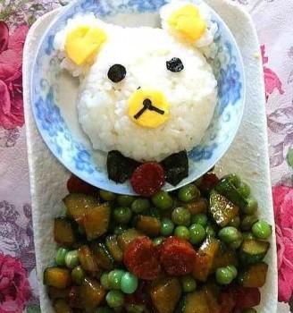 小熊饭团便当