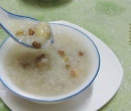 莲子绿豆粥